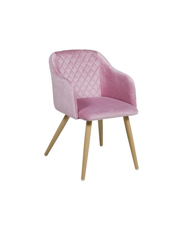 Chaise Cob rose
